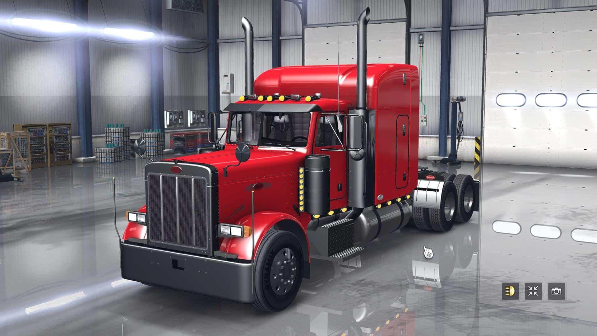 Outlaw Peterbilt Custom 379 v 28  ETS 2 mods